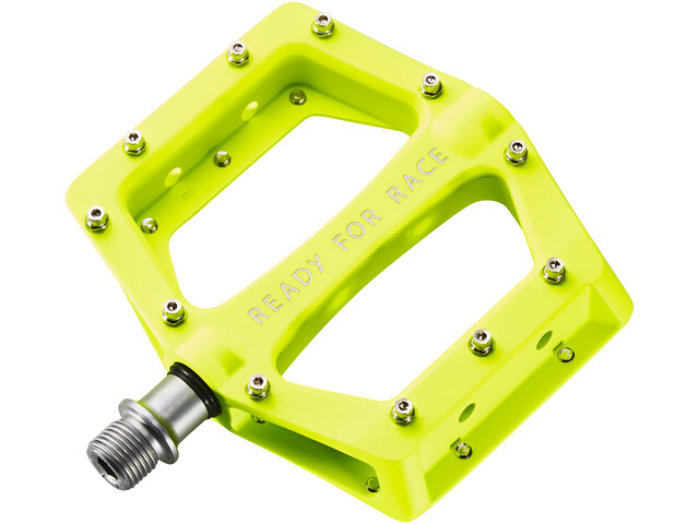 Cube RFR Flat Race Pedale neon yellow